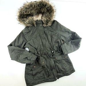 Womens Divided HM Parka Coat